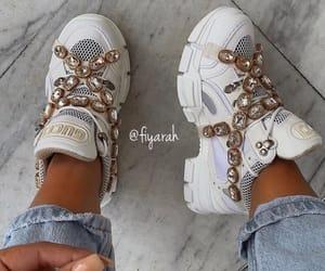shoes sneakers, basket footwear, and luxury luxe nude image
