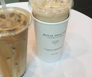 cafe, iced coffee, and coffee image