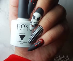 Halloween, manicure, and nails image