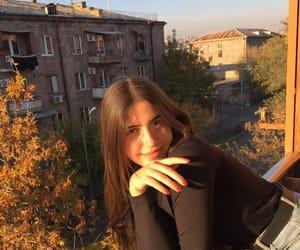 autumn, face, and fashion image
