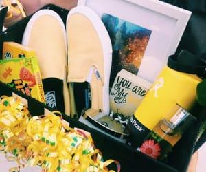 gift and yellow image