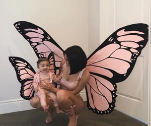 kylie jenner, butterfly, and stormi image