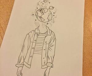 draw, drawing, and sanat image
