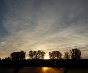 nature, october, and sunrise image