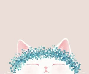 wallpaper, cat, and background image