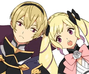 brother and sister, video game, and fire emblem image