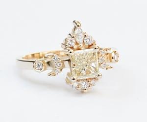 etsy, diamondring, and anniversarygift image
