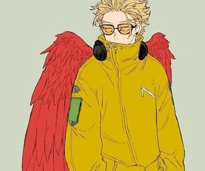 hawks, boku no hero academia, and bnha image