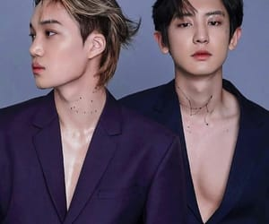 exo, chanyeol, and kai image