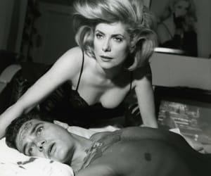 black & white and catherine deneuve image