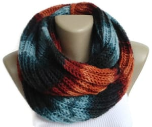 etsy, chunky scarf, and men scarf image