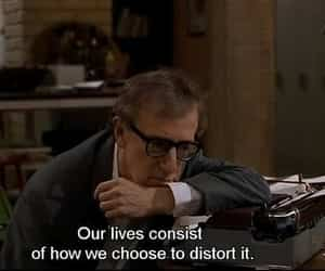 quotes, random, and woody allen image