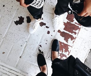 shoes and coffee image