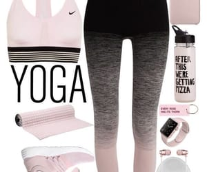 clothing, fitness, and pink image