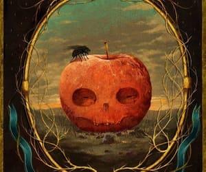 apple, autumn, and Halloween image