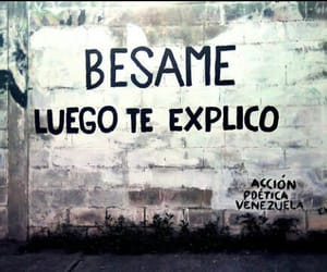 love, kiss, and besame image