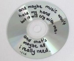 music, grunge, and cd image