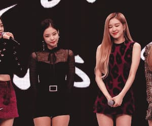 kpop, rose, and jennie image