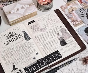 Halloween, planner, and journaling image
