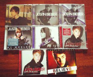 justin bieber, cd, and believe image