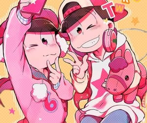 osomatsu, osomatsu san, and todomatsu image