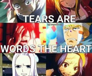anime, cry, and gray image