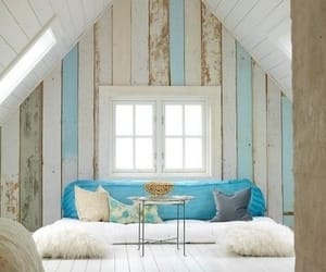 blue, home, and interior image