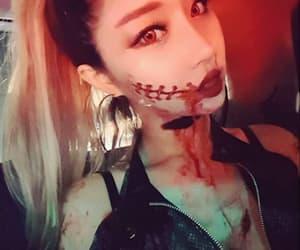 girls, Halloween, and korean image