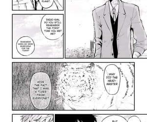 atsushi, manga, and dazai image