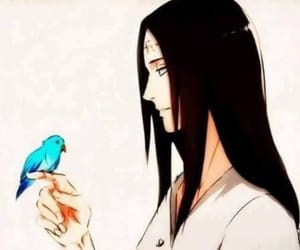 anime and neji hyuga image