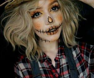 Halloween, autumn, and makeup image