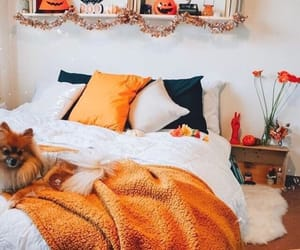 autumn, bedrooms, and boo image