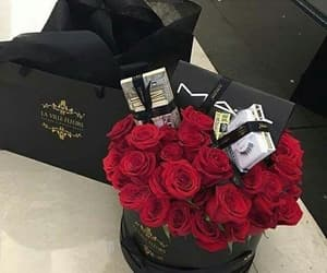 rose, flowers, and mac image
