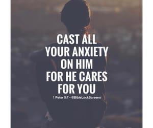 anxiety, faith, and spiritual image