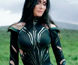 cate blanchett, goddess of death, and hela image
