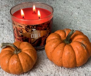 art, autumn, and candle image
