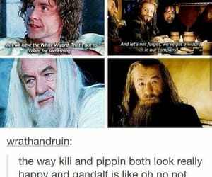 books, funny, and gandalf image