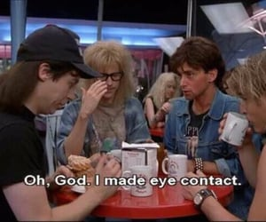funny, wayne's world, and quotes image