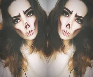aesthetic, makeup, and Halloween image