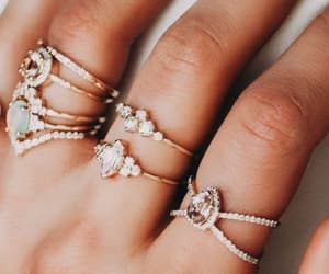 accessoires, jewelry, and girly image