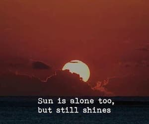quotes, sun, and shine image