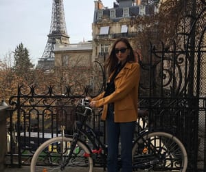 bicycle, cool, and eiffel tower image