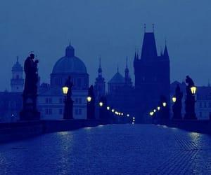 architecture, blue, and bridge image