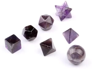 amethyst, crystal, and cube image