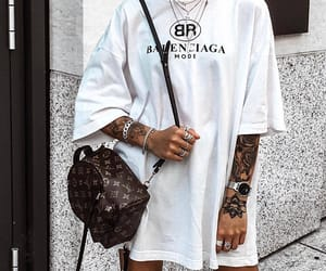 fashion, outfit, and Balenciaga image