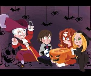 Halloween, jack frost, and merida dunbroch image