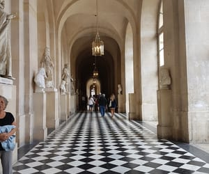 castle, versailles, and chateau image