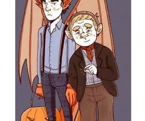 fanart, watson, and Halloween image