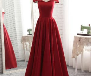 prom dress, bridesmaid dress, and long prom dress image