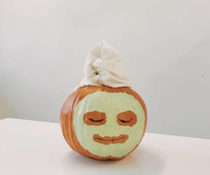 pumpkin, spa, and chill image